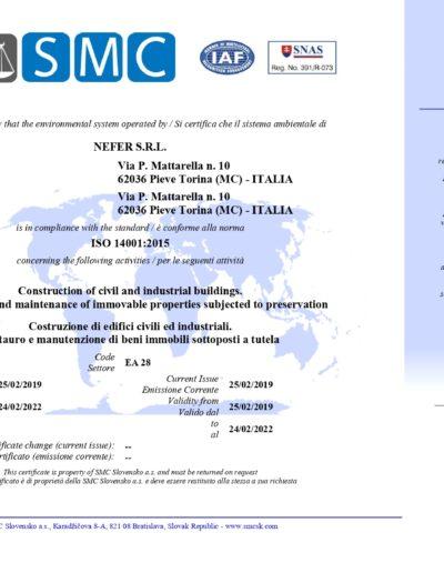 ISO 14001 - NEFER